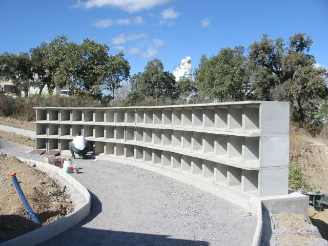 columbarium cases béton